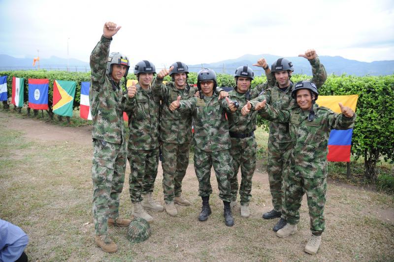 Colombia Earns Fuerzas Comando 2012 Championship Title