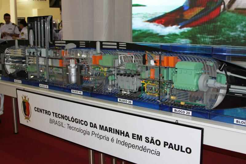 Brazilian Navy Initiates Project to Manufacture Nuclear-Powered Submarine