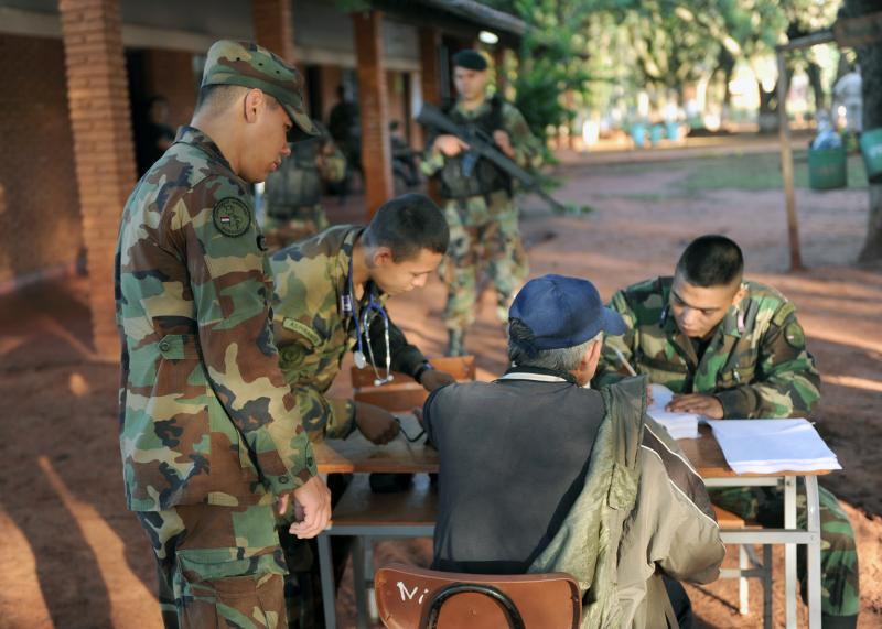 Paraguayan Military and Police Provide Free Medical Care with U.S. Assistance