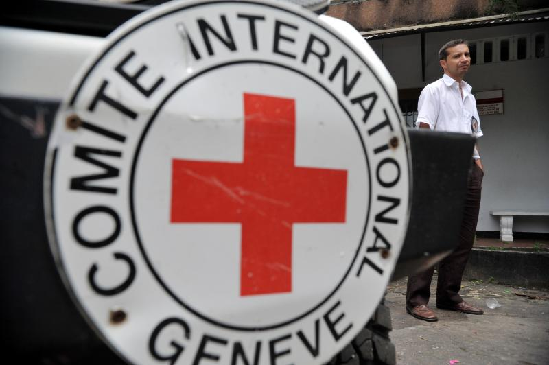Red Cross Turns Over Remains of Colombian Military Personnel