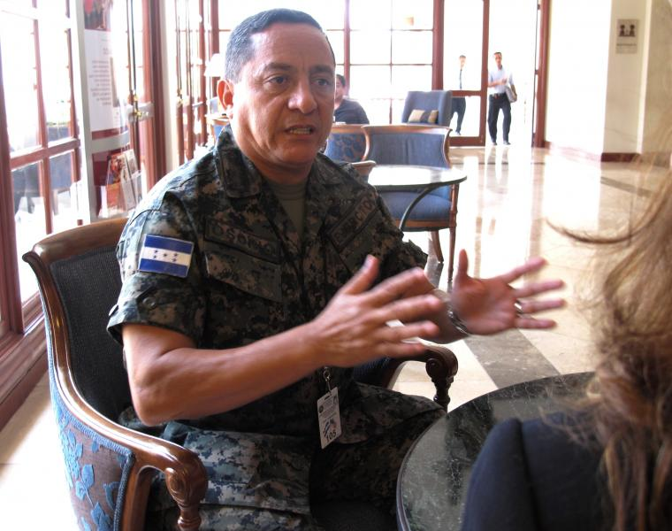 Interview with Lieutenant General René A. Osorio Canales, Honduran Armed Forces