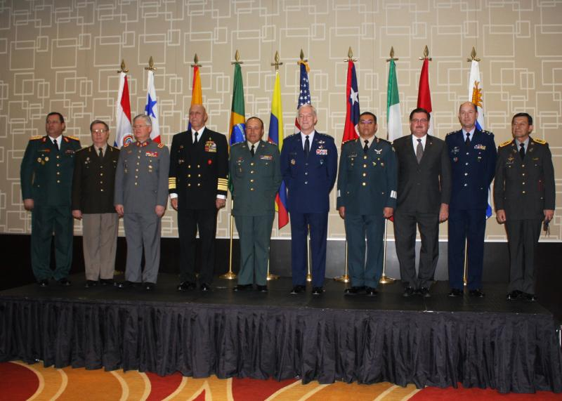 Military Leaders Meet to Discuss New Threats and the Way Ahead