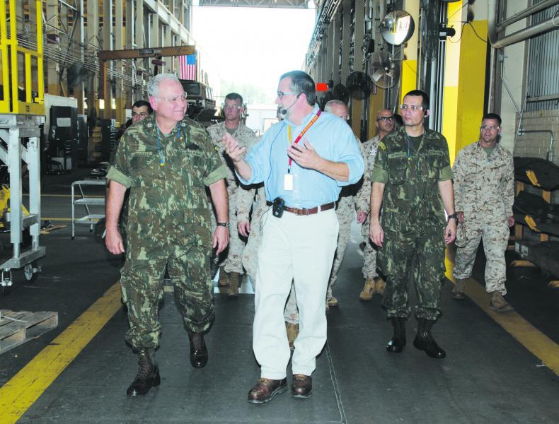 Brazilian Marine Corps Commandant Visit Boosts Cooperation with U.S.