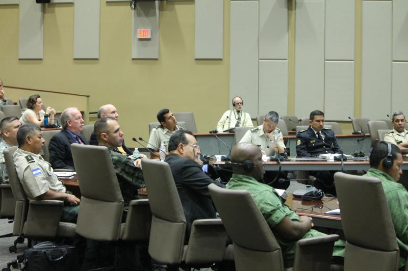 Central American Nations and U.S. Exchange Ideas on Military Support to Law Enforcement