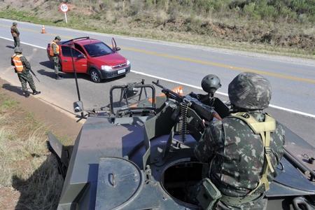 Operation Ágata 5 Seizes Explosives, Marijuana