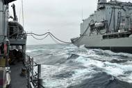 Operation Martillo: Chilean oiler Almirante Montt concludes deployment