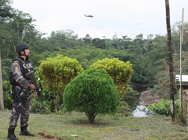 Colombia and Ecuador Destroy Seven Drug Labs on Shared Border