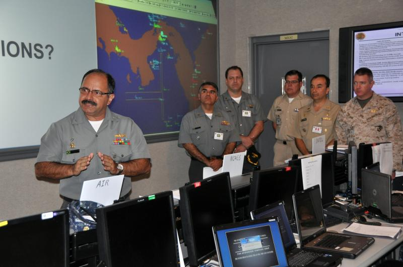 Interview with Brazilian Rear Adm. Lima Filho, Head of Maritime Operations, PANAMAX 2012