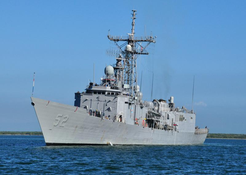 USS Carr Interdicts 1,250 Pounds of Cocaine During Operation Martillo