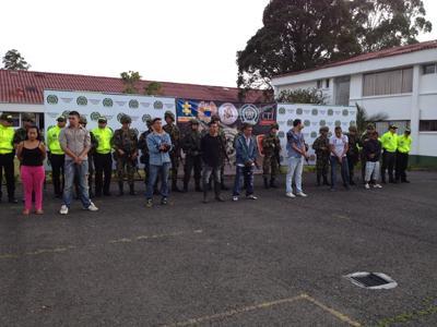 Colombian Forces Arrest Eleven FARC Collaborators