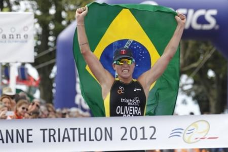 Brazilian Military Team Wins First Gold Medal in Triathlon World Championship
