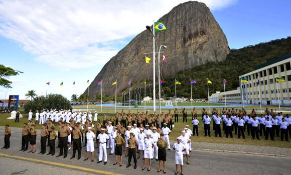 Brazil Honors Military Athletes for Participation in London 2012