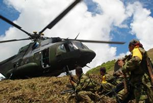 Seven FARC Guerrillas Killed in a Military Operation