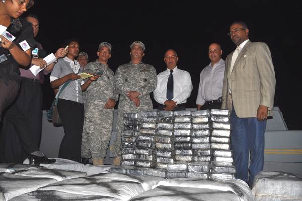 Dominican Republic: 1.5 metric tons of cocaine seized