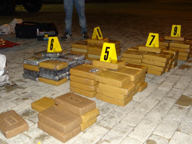 A Ton of Cocaine Seized in the Colombian Caribbean