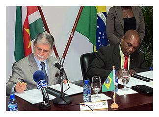 Suriname and Brazil Strengthen Defense Cooperation
