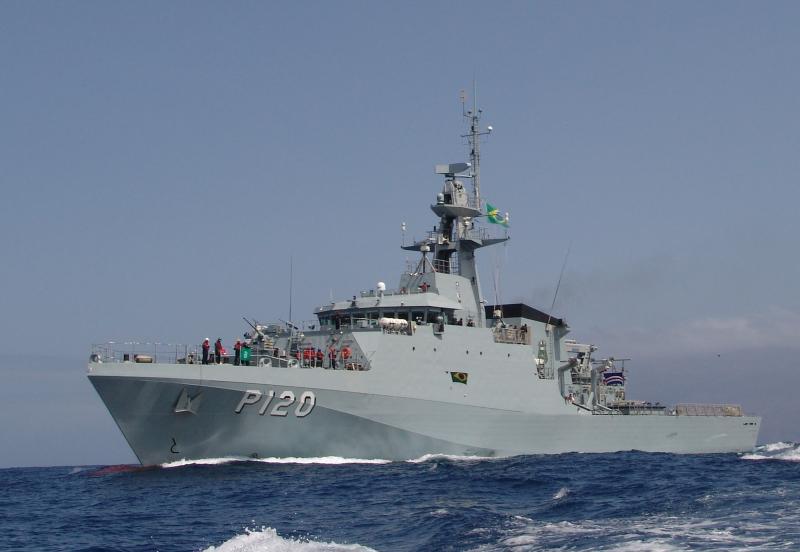 Brazil's Newest Navy Patrol Vessel to Arrive in Rio de Janeiro