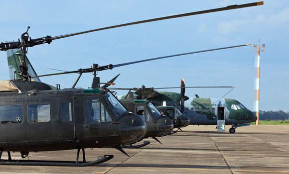 Brazil Donates Helicopters to Bolivia to Counter Drug Trafficking