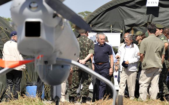 Brazil Wants More Unmanned Air Vehicles on Borders