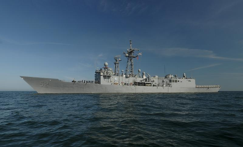 USS Carr Recovers 780 Kilos of Cocaine