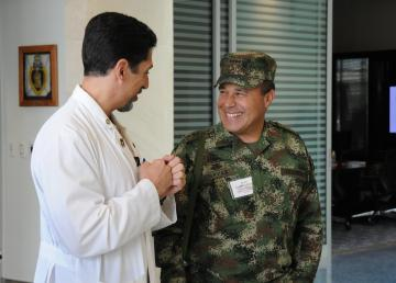Colombian Delegation Tours Wounded Warrior Facilities