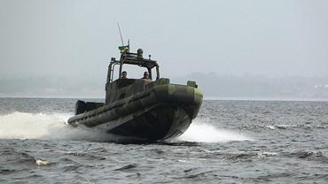 Brazilian Army Riverine Assault Patrol Boat to the Test