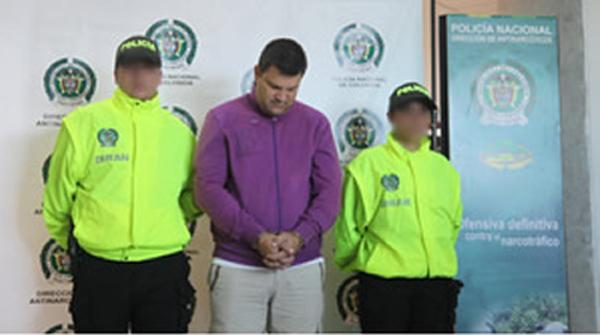 Suspected Colombian Heroin Trafficker Arrested