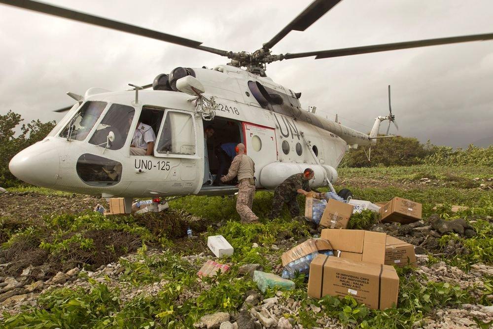 Haiti Hurricane Disaster Sparks MINUSTAH Humanitarian Aid Drive