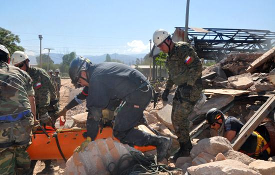 Chilean and Argentine Peace Forces Participate in Exercise Southern Cross I