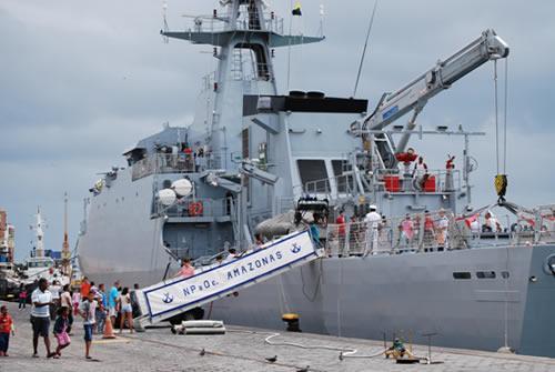 "Offshore Patrol Vessel ""Amazonas"" Transfers to Operative Sector of Brazilian Navy"