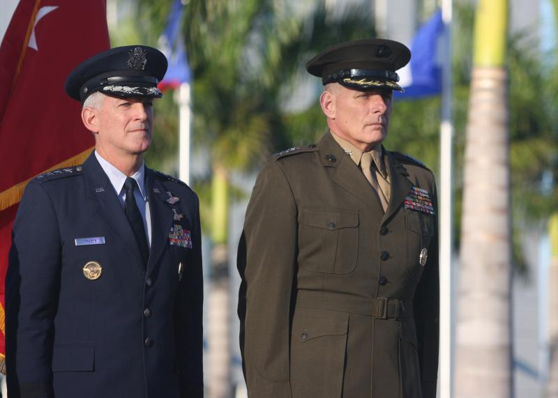 General Kelly Takes Command of USSOUTHCOM, Honors General Fraser