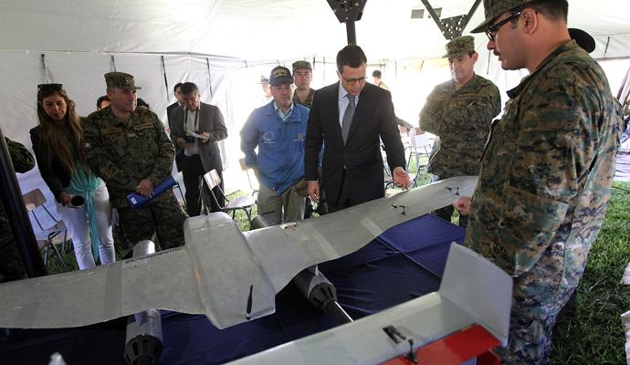 Chilean Army Tests First Unmanned Aircraft