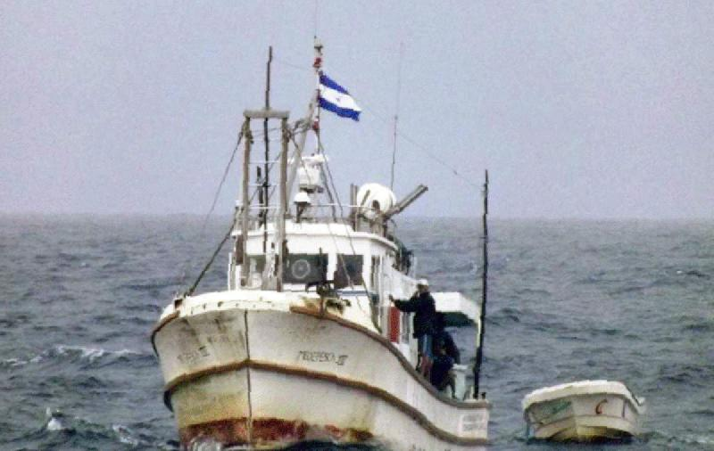 Colombian Frigates out of Nicaraguan Waters