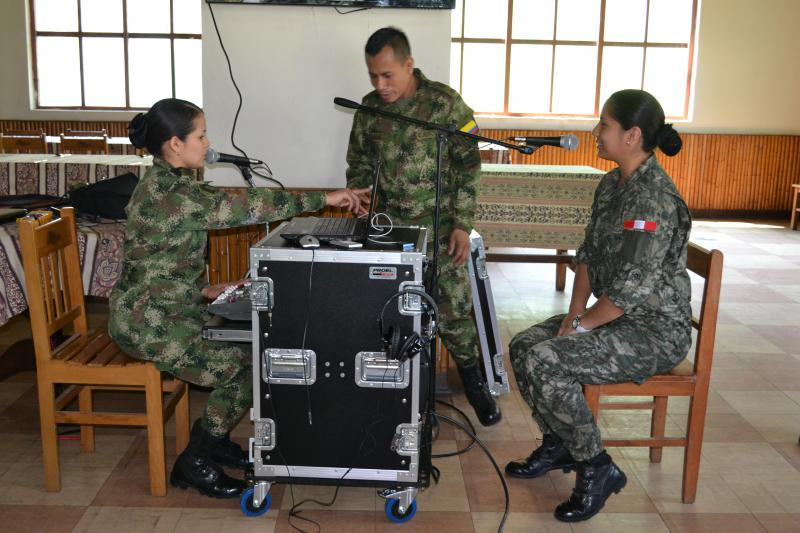 Peru and Colombia Exchange Knowledge to Counter Guerrilla Propaganda
