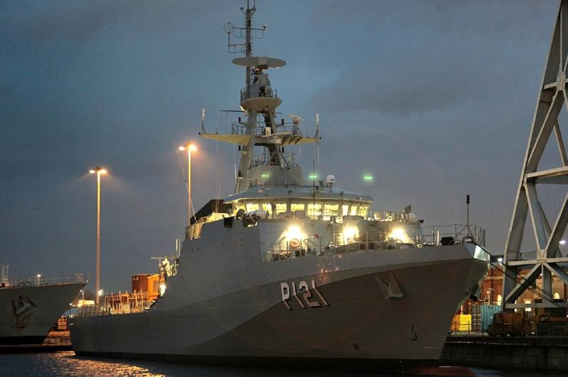 "Ocean Patrol Vessel ""Apa"" is Incorporated into the Brazilian Navy"