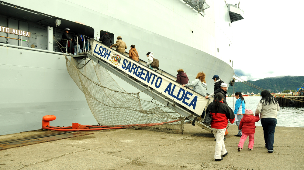 Chilean Navy's 'Floating Hospital' Treats 6,000 Patients in Patagonia