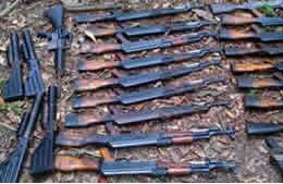 "Weapons Arsenal Sold by ""El Loco"" to FARC Seized"