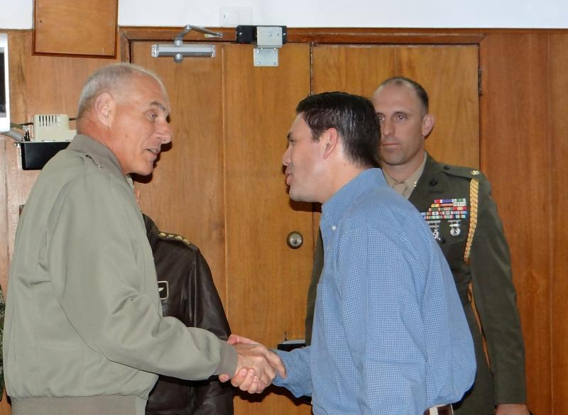 New SOUTHCOM Commander Visits Colombia