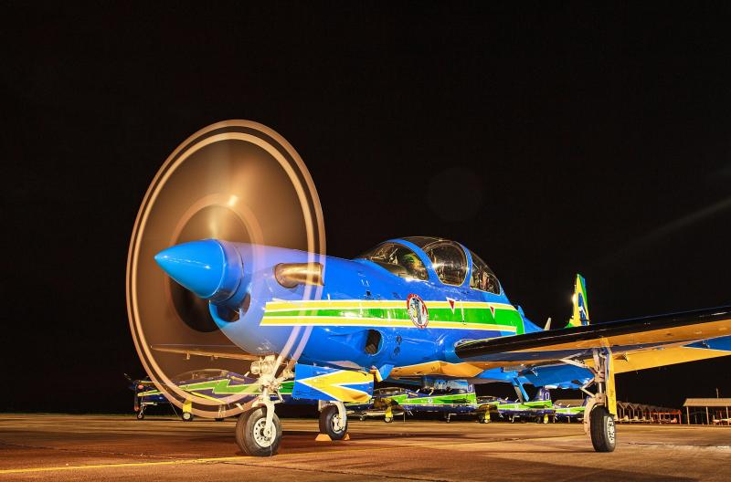 Brazilian Air Force Introduces the New Super Tucano