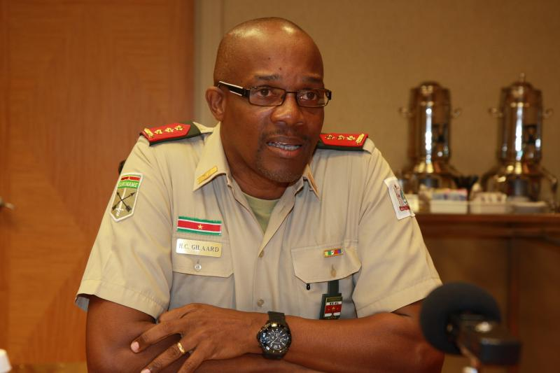 Interview with Colonel Hedwig Gilaard, Suriname's Chief of Defense