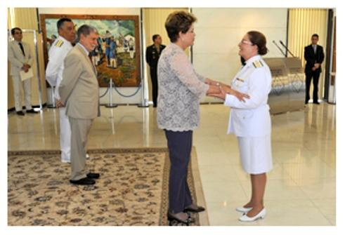 President Dilma Rousseff Highlights the Growth of Women in the Military