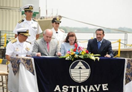 Peru and Ecuador Sign Agreement for the Construction of Patrol Vessels