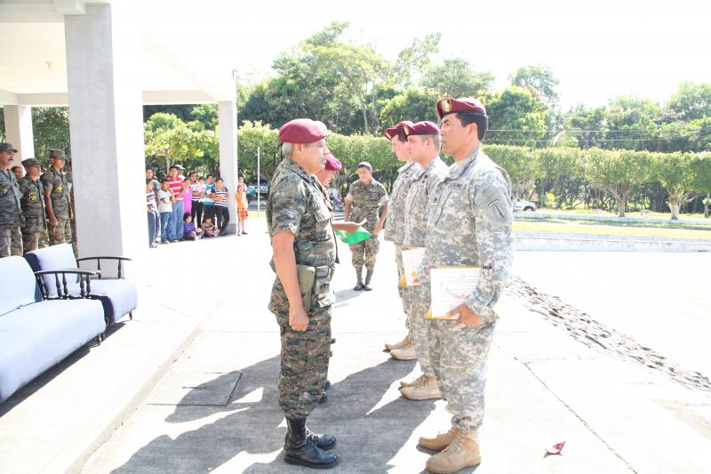 Psychological Operations Seminar Carried Out in Guatemala