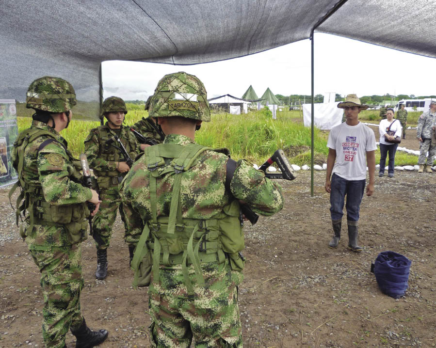 Colombia's Army Has Faith in the Cause