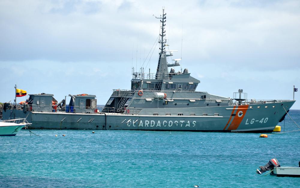 Ecuadorian Navy Deploys Vessels to Stop Increased Coastal Drug Trafficking