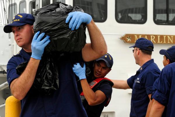 U.S. Coast Guard seizes US$40 million worth of cocaine