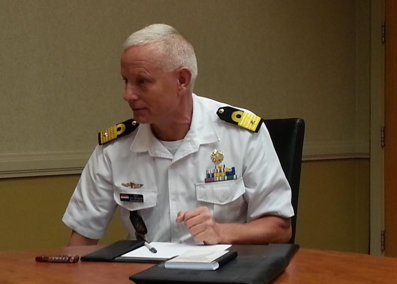 Brigadier General Dick Swijgman Discusses the Netherlands Forces in the Caribbean