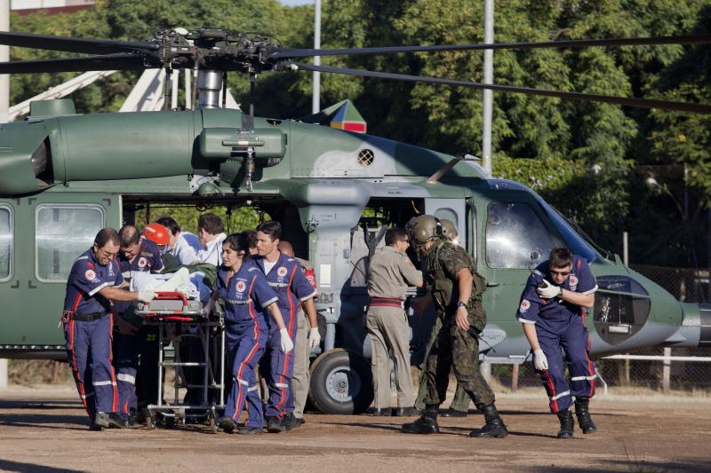Brazilian Air Force Squadron Helps with Patient Transportation
