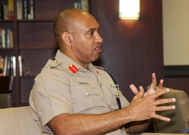 Interview with Major General Antony Anderson, Chief of Defence Staff, Jamaica Defence Force