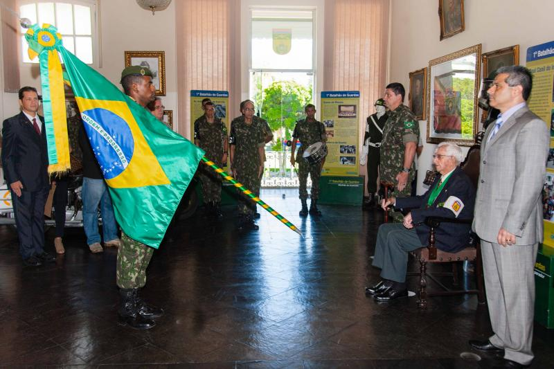 Brazilian Army Honors Diálogo with Emperor's Grenadier Medal of Merit